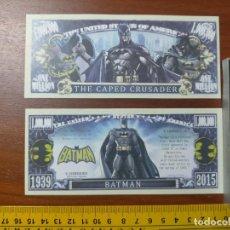 Lots de Billets: BILLETE CONMEMORATIVO DOLARES DOLAR - USA - CINE BATMAN THE CAPED CRUSSADER. Lote 254310055