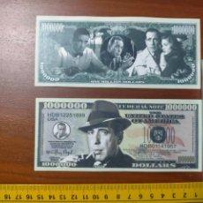 Lotes de Billetes: BILLETE CONMEMORATIVO DOLARES DOLAR - USA - HUMPHREY DEFOREST BOGART. Lote 242899535