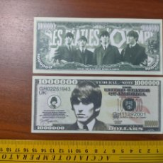 Lotes de Billetes: BILLETE CONMEMORATIVO DOLARES DOLAR - USA - GEORGE HARRISON THE BEATLES ROCK & ROLL HALL OF FAME. Lote 242899825