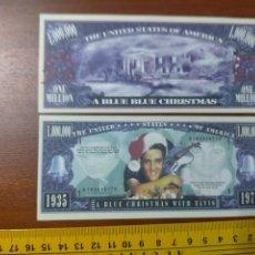 Lotes de Billetes: BILLETE CONMEMORATIVO DOLARES DOLAR - USA - SONGS - ELVIS PRESLEY HAD MANY CHRISTMAS. Lote 242900910