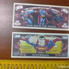 Lots de Billets: BILLETE CONMEMORATIVO DOLARES DOLAR - USA - SUPERMAN CLARK KENT. Lote 254309850
