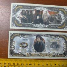 Lotes de Billetes: BILLETE CONMEMORATIVO DOLARES DOLAR - USA - THE LORD OF THE RINGS EL SEÑOR DE LOS ANILLOS. Lote 242902110