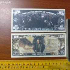 Lotes de Billetes: BILLETE CONMEMORATIVO DOLARES DOLAR - USA - THE HOBBIT. Lote 242902490