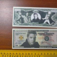 Lotes de Billetes: BILLETE CONMEMORATIVO DOLARES DOLAR - USA - ELVIS PRESLEY. Lote 242902685
