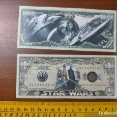 Lotes de Billetes: BILLETE CONMEMORATIVO DOLARES DOLAR - USA - STAR WARS. Lote 243566640