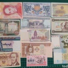 Lotes de Billetes: LOTE 20 BILLETES EXTRANJEROS DIFERENTES. Lote 245909125