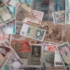 Lots de Billets: LOTE 70 DE BILLETES MUNDIALES ORIGINALES - DIVERSOS ESTADOS DE CONSERVACION (PARA REVISAR). Lote 252439275
