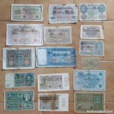 Lots de Billets: LOTE 16 BILLETES DIFERENTES ALEMANIA (1910-1937). Lote 264201664
