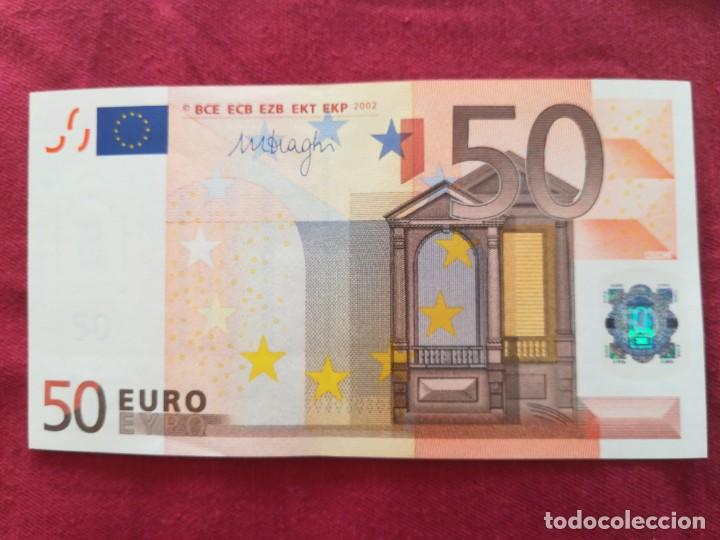BILLETE 50 EURO 2002 S/C LETRA X - ALEMANIA FIRMA DRAGI (Numismática - Notafilia - Series y Lotes)