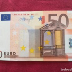 Lotes de Billetes: BILLETE 50 EURO 2002 S/C LETRA X - ALEMANIA FIRMA DRAGI. Lote 266121628