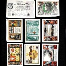 Lotti di Banconote: ⚜️ A2233. BUEN LOTE BILLETE ALEMÁN Y NOTGELD, HASTA S/C-. Lote 268754969