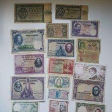 Lotes de Billetes: EXCELENTE LOTE DE BILLETES ESPAÑOLES Y ALEMANES ,TODOS DIFERENTES(VER FOTOS). Lote 288332713