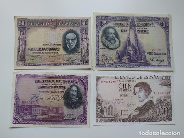 Lotes de Billetes: Excelente lote de 38 billetes españoles (21) y alemanes (17) ,todos diferentes(ver fotos) - Foto 3 - 288332713