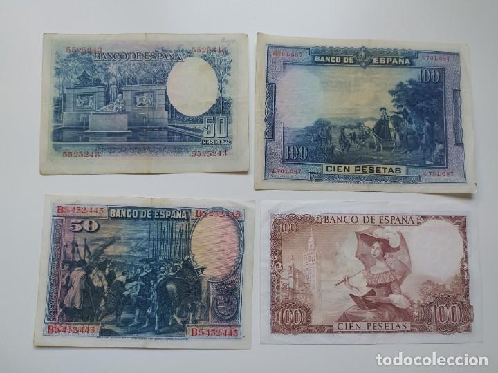 Lotes de Billetes: Excelente lote de 38 billetes españoles (21) y alemanes (17) ,todos diferentes(ver fotos) - Foto 4 - 288332713