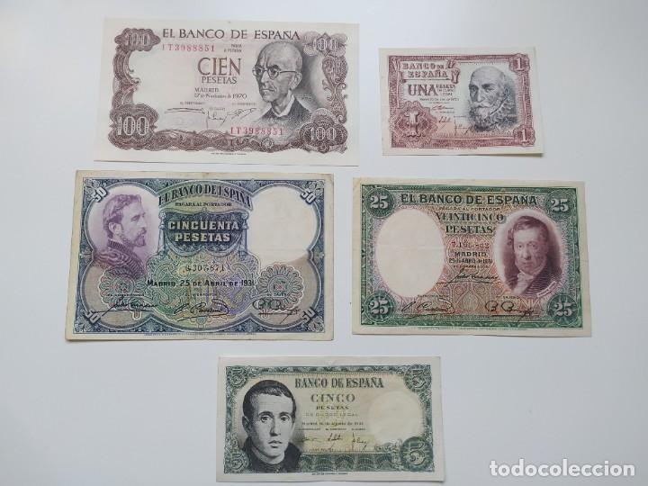 Lotes de Billetes: Excelente lote de 38 billetes españoles (21) y alemanes (17) ,todos diferentes(ver fotos) - Foto 5 - 288332713