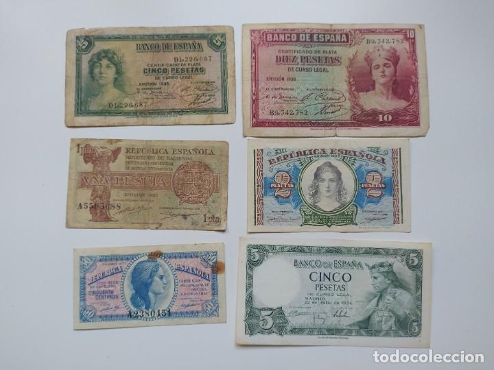 Lotes de Billetes: Excelente lote de 38 billetes españoles (21) y alemanes (17) ,todos diferentes(ver fotos) - Foto 7 - 288332713