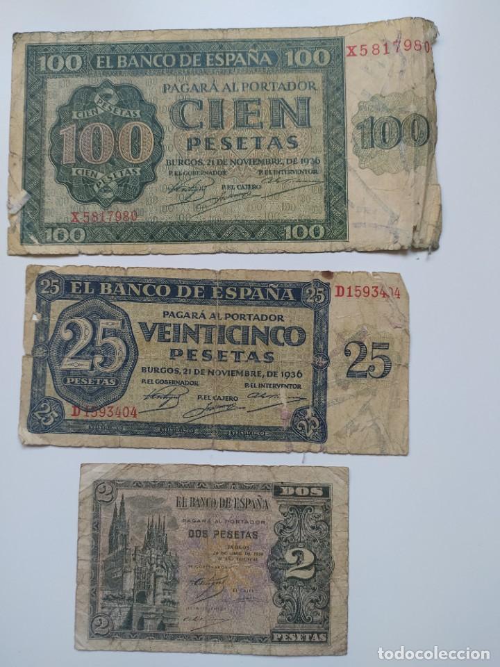 Lotes de Billetes: Excelente lote de 38 billetes españoles (21) y alemanes (17) ,todos diferentes(ver fotos) - Foto 11 - 288332713