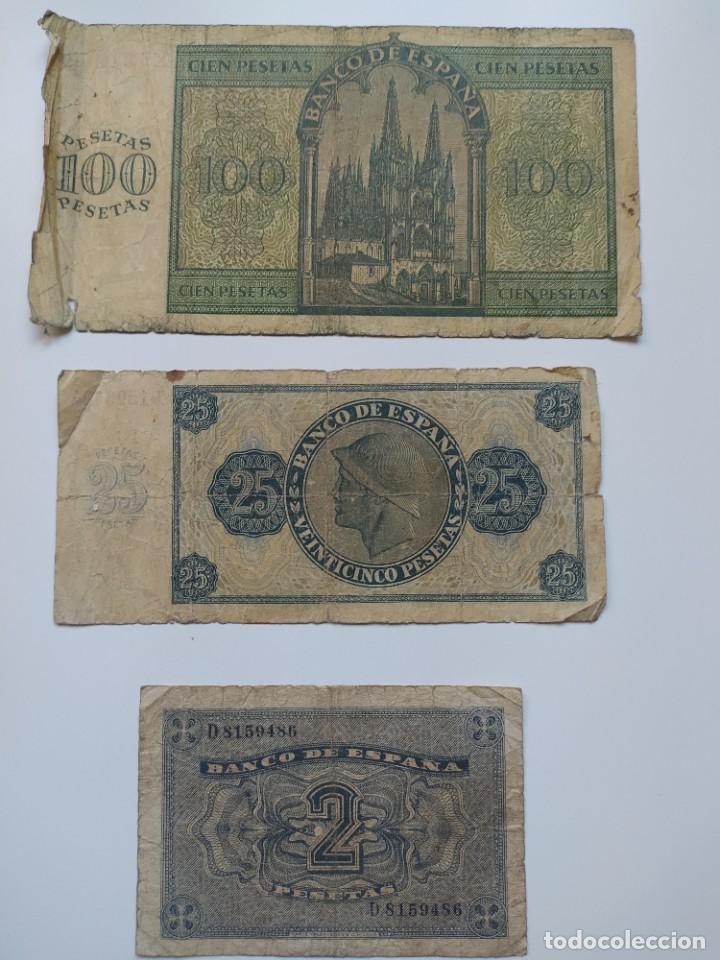 Lotes de Billetes: Excelente lote de 38 billetes españoles (21) y alemanes (17) ,todos diferentes(ver fotos) - Foto 12 - 288332713