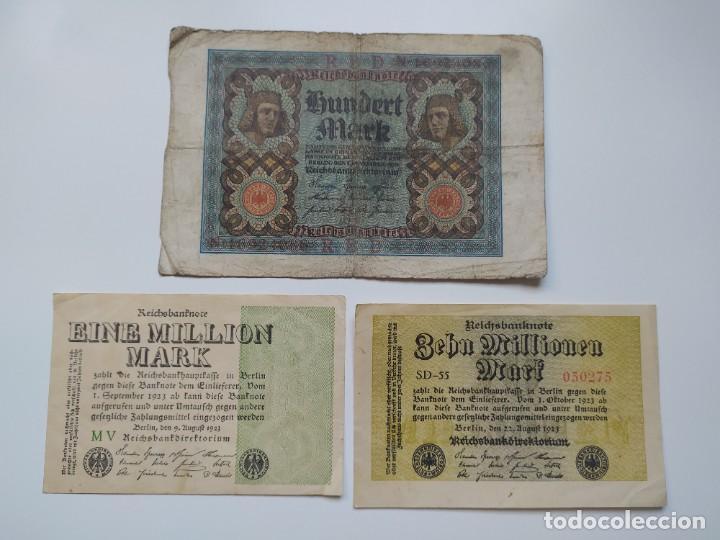 Lotes de Billetes: Excelente lote de 38 billetes españoles (21) y alemanes (17) ,todos diferentes(ver fotos) - Foto 13 - 288332713