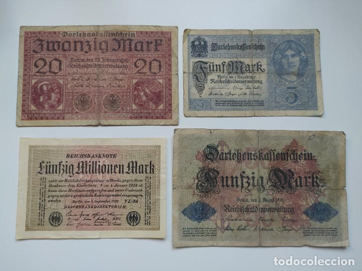 Lotes de Billetes: Excelente lote de 38 billetes españoles (21) y alemanes (17) ,todos diferentes(ver fotos) - Foto 15 - 288332713