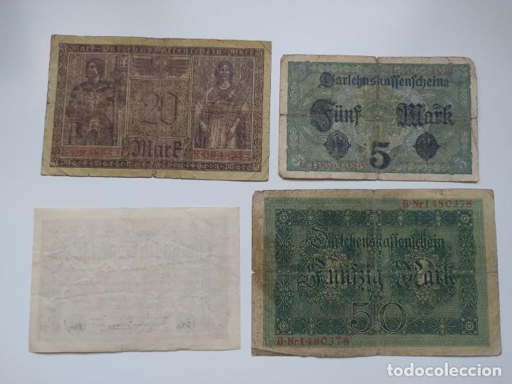 Lotes de Billetes: Excelente lote de 38 billetes españoles (21) y alemanes (17) ,todos diferentes(ver fotos) - Foto 16 - 288332713