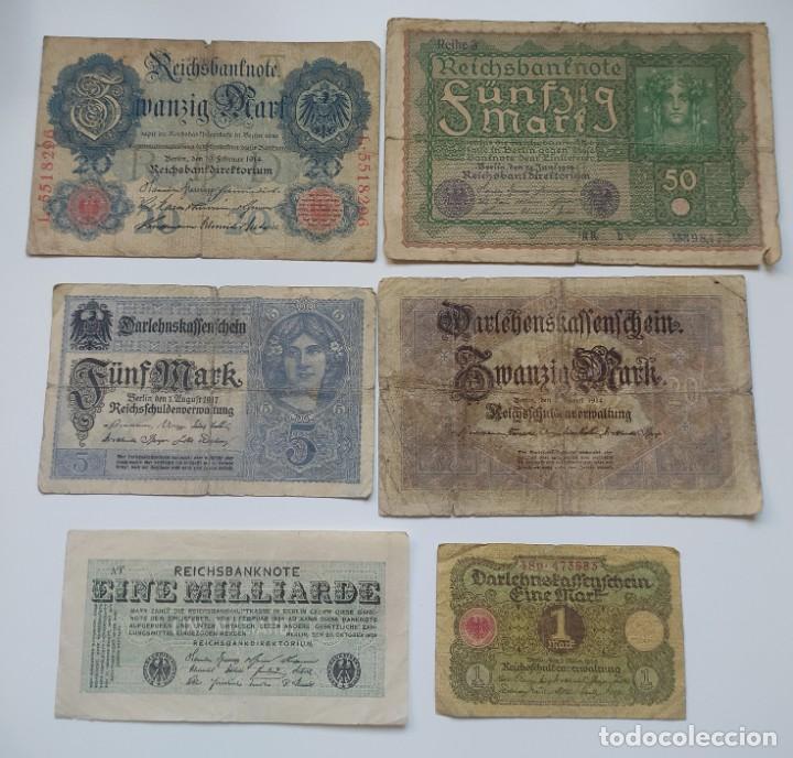 Lotes de Billetes: Excelente lote de 38 billetes españoles (21) y alemanes (17) ,todos diferentes(ver fotos) - Foto 17 - 288332713