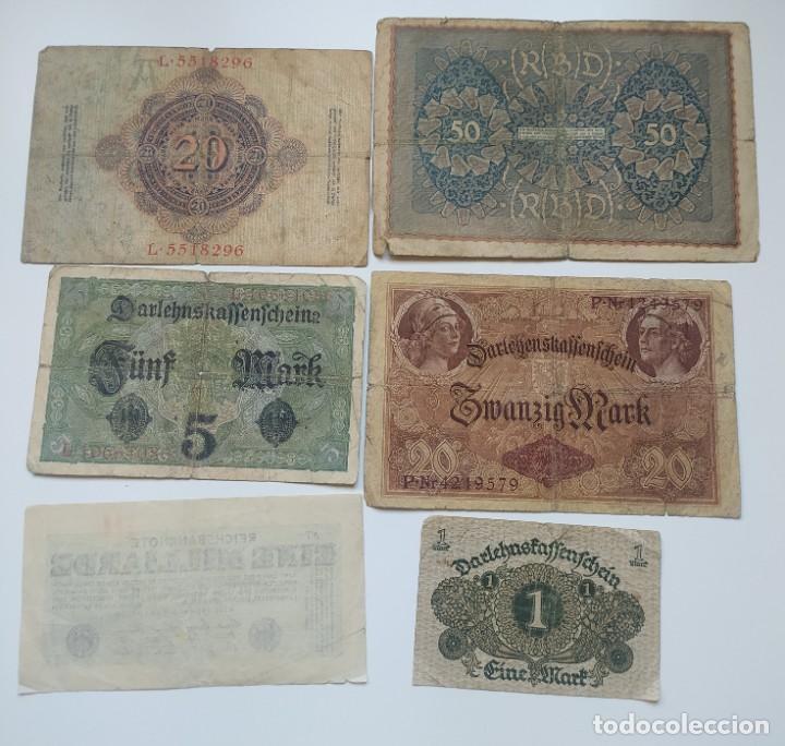 Lotes de Billetes: Excelente lote de 38 billetes españoles (21) y alemanes (17) ,todos diferentes(ver fotos) - Foto 18 - 288332713