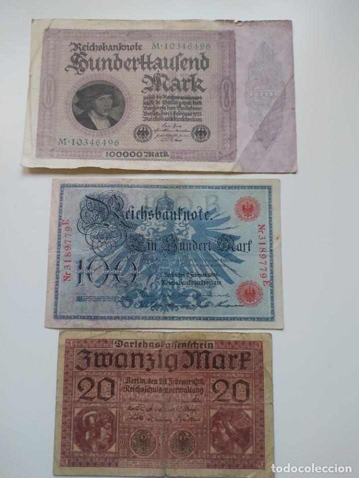 Lotes de Billetes: Excelente lote de 38 billetes españoles (21) y alemanes (17) ,todos diferentes(ver fotos) - Foto 19 - 288332713