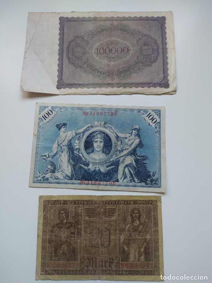Lotes de Billetes: Excelente lote de 38 billetes españoles (21) y alemanes (17) ,todos diferentes(ver fotos) - Foto 20 - 288332713