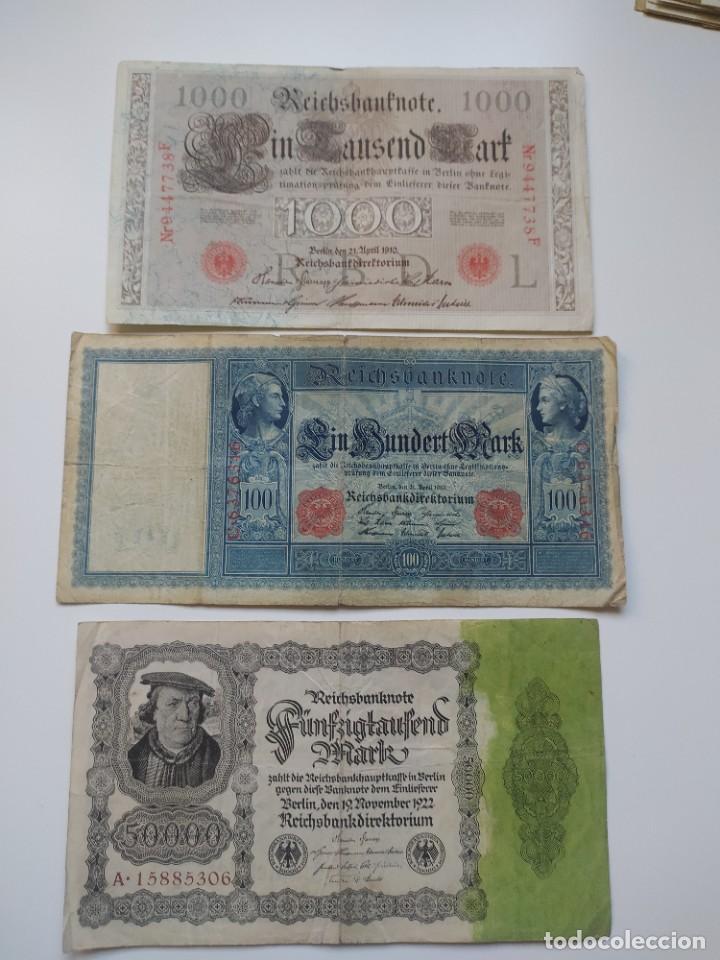 Lotes de Billetes: Excelente lote de 38 billetes españoles (21) y alemanes (17) ,todos diferentes(ver fotos) - Foto 21 - 288332713