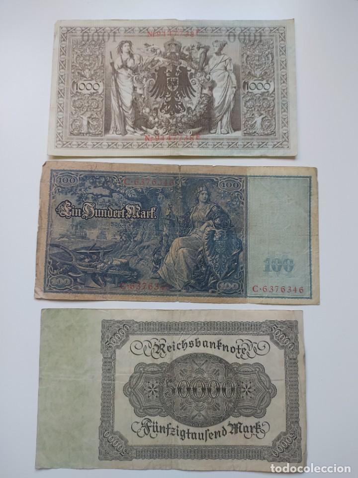 Lotes de Billetes: Excelente lote de 38 billetes españoles (21) y alemanes (17) ,todos diferentes(ver fotos) - Foto 22 - 288332713