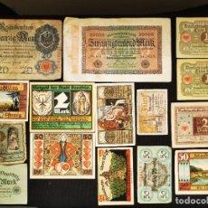 Lotes de Billetes: ⚜️ A2403. INCLUYE SC- / SC. BUEN LOTE DE BILLETE ALEMÁN. Lote 288543813