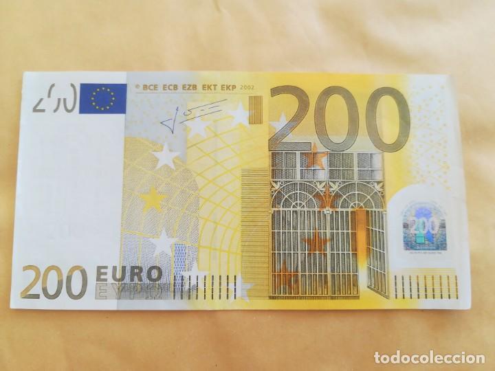 BILLETE 200 EURO 2002 LETRA X (ALEMANIA) (Numismática - Notafilia - Series y Lotes)