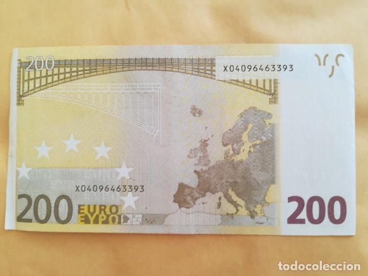 Lotes de Billetes: Billete 200 euro 2002 letra X (Alemania) - Foto 2 - 288637208