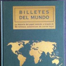 Lotes de Billetes: BILLETES DEL MUNDO- HISTORIA DEL PAPEL MONEDA A TRAVÉS DE 52 BILLETES AUTÉNTCOS DE CURSO LEGAL - LIB. Lote 288876843