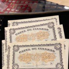 Lotes de Billetes: LOTE DE BILLETES PAPEL DE FINANZAS 1000 PESETAS. Lote 290526973