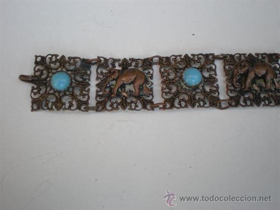 Joyeria: pulsera de metal plateado - Foto 2 - 21653018