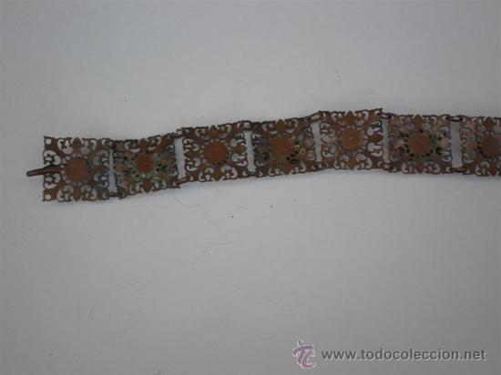 Joyeria: pulsera de metal plateado - Foto 4 - 21653018