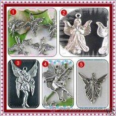 Joyeria: LOTE DE 5 COLGANTES DE ANGELES Y HADAS VINTANGE. Lote 97889982