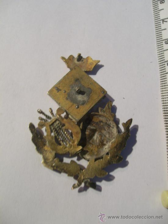 Joyeria: Baleares. Mallorca. Academia de Bellas Artes. Rara insignia en metal, oro y esmaltes. - Foto 2 - 26487727