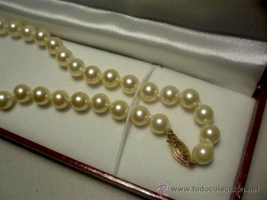 e766804e7280 Collar de perlas cultivadas japonesas akoya con - Vendido en Venta ...