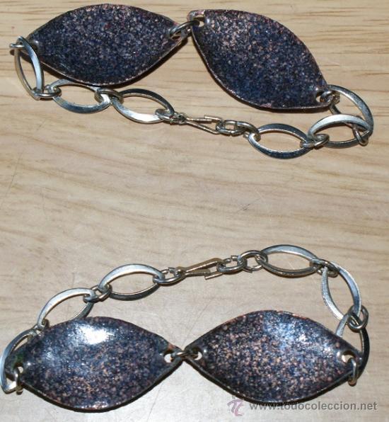 Joyeria: pareja de pulseras de los 60 - Foto 2 - 29739618