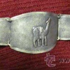 Joyeria: BRAZALETE DE PLATA SELLADA - PERU - VINTAGE - DISEÑO TRADICIONAL. Lote 29992564