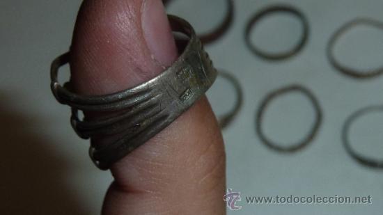 Joyeria: Lote de anillos antiguos, algunos en plata. - Foto 3 - 32324294