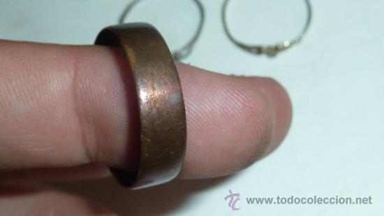 Joyeria: Lote de anillos antiguos, algunos en plata. - Foto 6 - 32324294