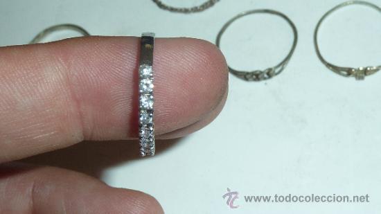 Joyeria: Lote de anillos antiguos, algunos en plata. - Foto 7 - 32324294