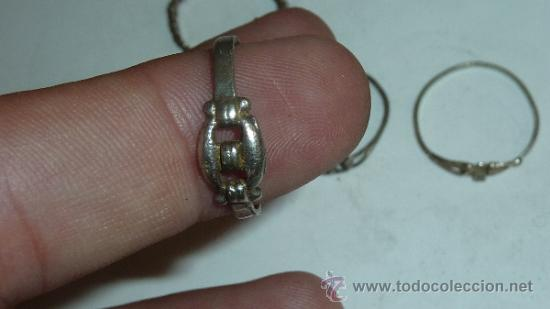 Joyeria: Lote de anillos antiguos, algunos en plata. - Foto 8 - 32324294