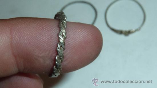 Joyeria: Lote de anillos antiguos, algunos en plata. - Foto 9 - 32324294