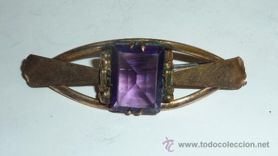 Joyeria: Lote de broche y dos anillos antiguos, uno en plata. - Foto 2 - 32324261