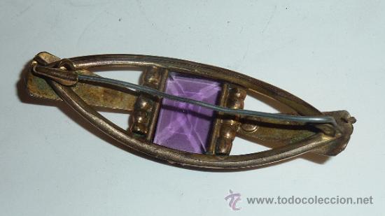 Joyeria: Lote de broche y dos anillos antiguos, uno en plata. - Foto 3 - 32324261